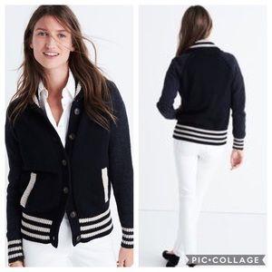 Madewell Bomber Cardigan Sweater